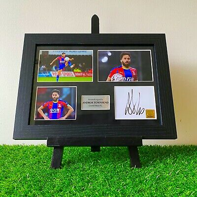 Authentic Hand Signed Andros Townsend Eagles In Crystal Palace Autograph Frame • 69.99£