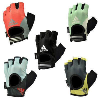 £7.99 • Buy Adidas Womens Fitness Gloves Ladies Weight Lifting Training Gym Exercise Workout
