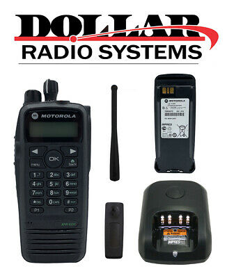 $299.99 • Buy Motorola XPR6550 UHF 403-470Mhz 4W Digital/Analog LTR Radio AAH55QDH9LA1AN