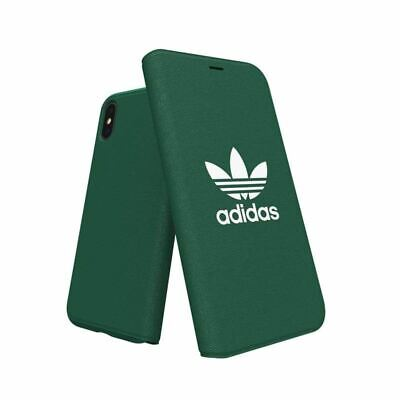 AU22.95 • Buy Genuine Adidas Booklet Case Cove For Apple IPhone X/Xs (5.8 ) - Collegiate Green