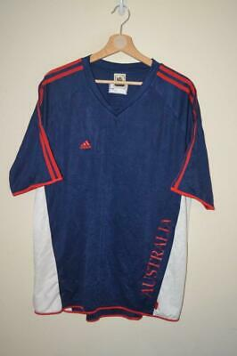 Retro Adidas Germany 2006 Fifa World Cup Austrlia Football Training Top Uk Large • 12.21£