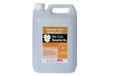 £29.95 • Buy Grease Trap Enzyme Cleaner Degreaser Drain Maintain HEAVY DUTY LIQUID 5L