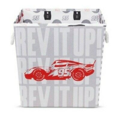Set Of 2 Bins - Cars Play All Day Red Storage Bin 13 X13  • 21.53£