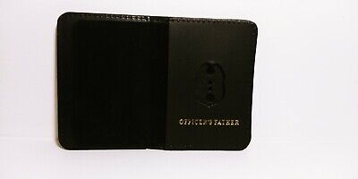 NJ/NY Style-Police-Sergeant Officer's Father Family Mini Badge ID Wallet Leather • 10.12£