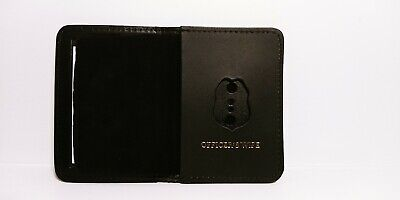 £9.40 • Buy NJ/NY Style-Police-Sergeant Officer's Wife Family Mini Badge ID Wallet Leather