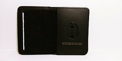 NJ/NY Style-Police-Sergeant Officer's Cousin Family Mini Badge ID Wallet Leather • 10.12£