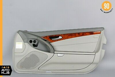 $315 • Buy 03-06 Mercedes R230 SL500 SL55 Interior Door Panel Right Passenger Gray OEM