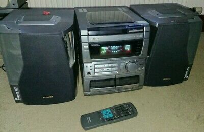 Aiwa MCA42Xi Compact HiFi System With, 3 CD Player, Cassette & Radio Stereo • 65£