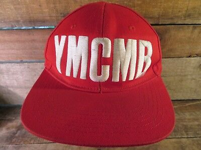 YMCMB Red & White Snapback Adult Cap Hat • 4.69£