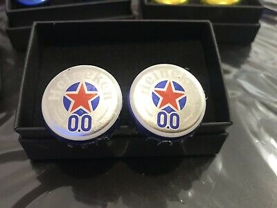 Wedding Stag Birthday Gift Heineken Bottletop Cufflinks • 9.99£
