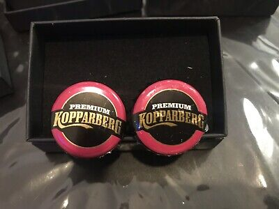 Wedding Stag Birthday Gift Kopparerg  Bottletop Cufflinks • 9.99£