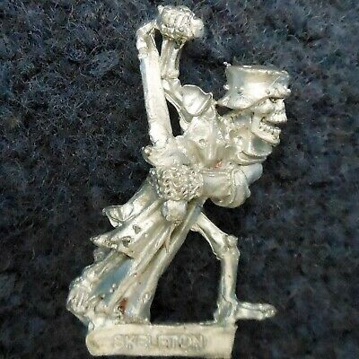 1987 Undead C17 Skeleton Knight Citadel Warhammer Vampire Counts Tomb Kings AD&D • 14£