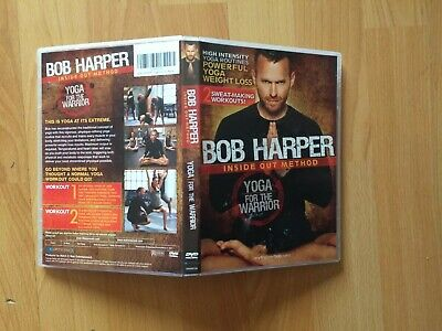 Bob Harper Inside Out Method Yoga For The Warrior DVD Excellent Condition • 11.97£