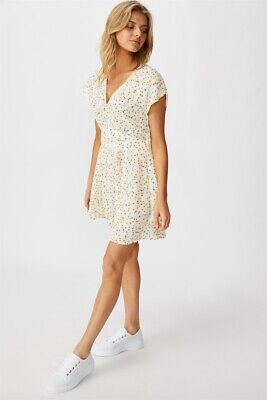 AU10 • Buy Cotton On Womens Woven Ultimate Tea Dress Dresses  In  White