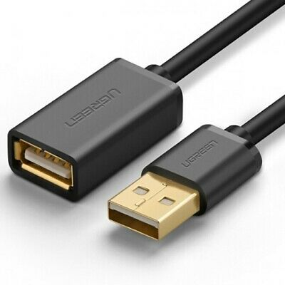 AU18.90 • Buy Fast USB 2.0 Extension Cable 3M Male To A Female For MacBook PC Device Camera