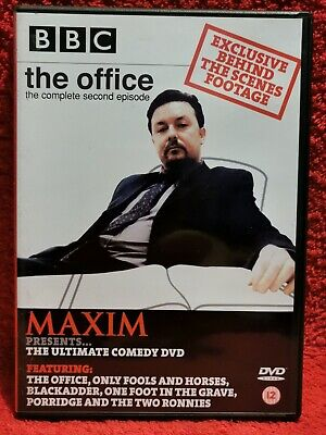 £2.49 • Buy Maxim Ultimate Comedy DVD, The Office, Only Fools, Blackadder, Porridge, Two Ron