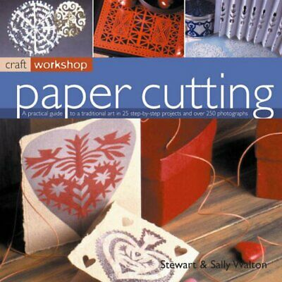 £3.29 • Buy Paper Cutting (Craft Workshop) By Sally Walton Paperback Book The Cheap Fast
