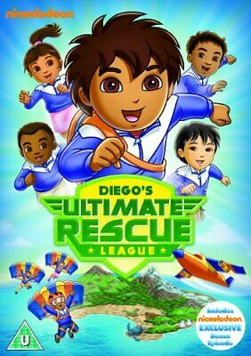 Go Diego Go: Diego's Ultimate Rescue League [DVD] - DVD  DSVG The Cheap Fast • 3.85£