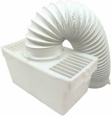 £9.30 • Buy UNIVERSAL Tumble Dryer Vented Condenser Kit Box With Vent Hose Pipe + Wall Mount