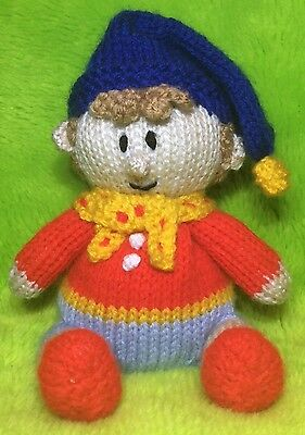 KNITTING PATTERN - Noddy Inspired Chocolate Orange Cover Or 15cms Toy • 2.99£