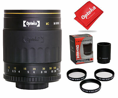 £70.76 • Buy Opteka 500-1000mm F/8 HD Mirror Telephoto Lens For Canon EOS 80D, 77D, 70D, 60D,