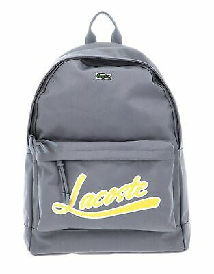 LACOSTE Backpack Frost Gray • 84.10£