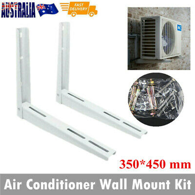 AU33 • Buy Heavy Duty Air Conditioner Wall Mounted Bracket Support 280lbs Steel 450mm