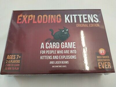 AU40.31 • Buy Exploding Kittens: A Card Game About Kittens And Explosions New Sealed Genuine