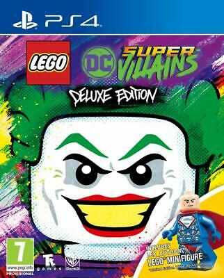 AU59.19 • Buy Lego DC Super Villains DELUXE VERSION (PS4) BRAND NEW SEALED WITH MINI FIGURE