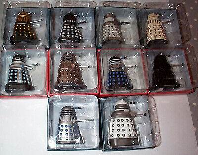 BBC Doctor Who Scale Figures Various Dalek Resin Model New In Box Eaglemoss • 17.95£