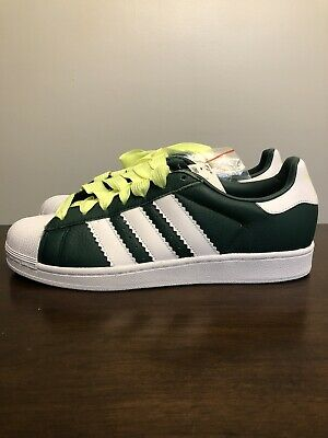$ CDN86.17 • Buy Adidas Superstar Mens Shoes Collegiate Green-Cloud White-Hi-Res Yellow Bd7419