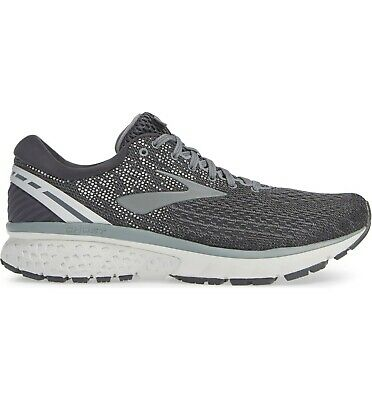 AU159.05 • Buy Brooks Ghost 11 Running Shoes, Men Sizes 12-12.5 Wide 2E, Ebony/Grey/Silver NEW