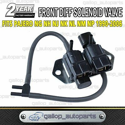 AU29.90 • Buy Front Diff Solenoid Freewheel Valve For Mitsubishi Pajero NG NH NJ NL NM NP NEW