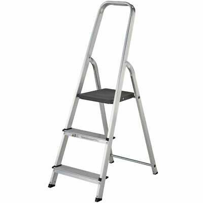 Youngman Atlas Light Trade Platform Step 3, 4, 5, 6 Tread Step Ladder Aluminium • 39.95£