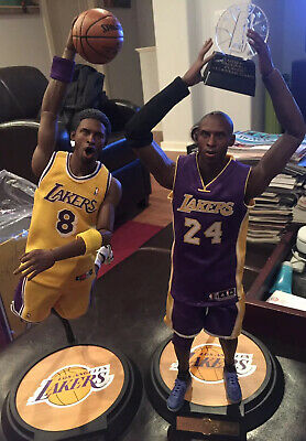 $799.99 • Buy Enterbay LA Lakers Masterpiece Kobe Bryant 1/6 Scale Dual Collector Figures 8&24