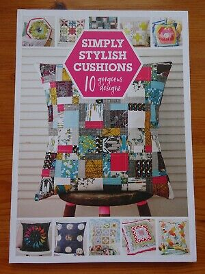Patchwork Cushions Pattern Book   10 Designs • 1.50£