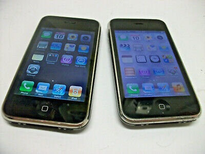 $ CDN39.76 • Buy Lot Of 2 Apple IPhone 3G 3GS AT&T MB702LL MC640LL 8GB Smartphone Cell Phone