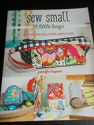Sewing Book  -  Sew Small, 19 Little Bags • 6£