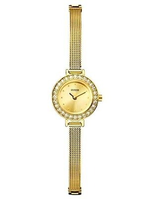 $ CDN114.17 • Buy NEW Women's GUESS Gold-Tone Mesh Bracelet Quartz Watch / U96013L1