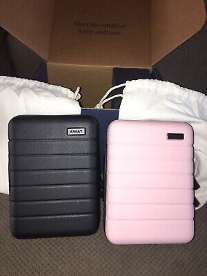 $ CDN157.07 • Buy Brand New Away Travel The Mini Pink / BLUSH & Black  Luggage Toiletry Case