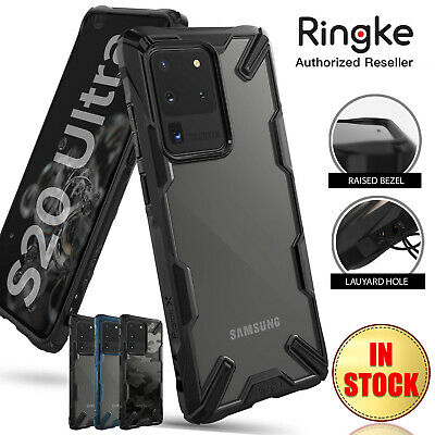 AU16.99 • Buy Galaxy S20 S10 Plus Ultra Case Ringke Fusion X Heavy Duty Shockproof For Samsung