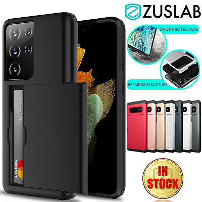 AU8.05 • Buy For Samsung Galaxy S21 S20 Plus Ultra S10 E S9 S8 Note 9 Case Wallet Card Holder