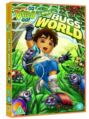 Go Diego Go: It's A Bug's World [DVD] - DVD  EAVG The Cheap Fast Free Post • 3.49£