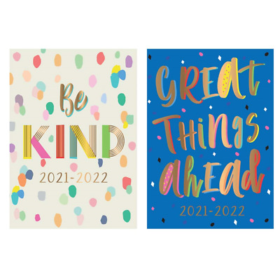 2020 2021 - A5 Academic Mid Year Week To View Student Teacher Diary Planner • 2.49£
