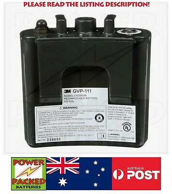 AU150 • Buy  RE-PACK YOUR GVP-111 3M Tuberculosis Respirator Battery