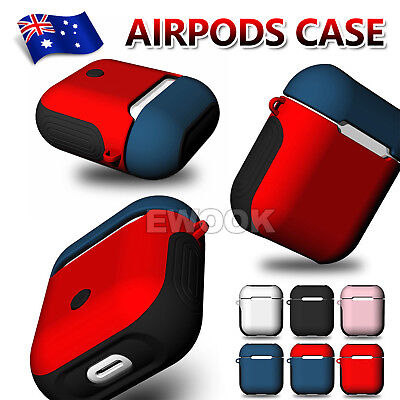 AU11.95 • Buy Shockproof For Apple Airpods Case Airpod Silicone Case Cover Skin Accessories