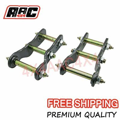 AU96.90 • Buy For Nissan Navara D40 Rear Extended 2  Inch Shackles Lift Kit Greasable 2005-15