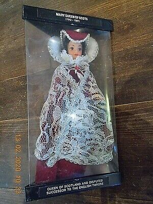 Vintage Mary Queen Of Scots Doll .. Boxed .. 8  Tall Vgc.. Rexard • 15£