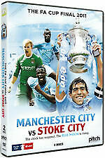 FA Cup Final: 2011 - Manchester City Vs Stoke City DVD 2 Disc Set SLIP COVER • 3.99£