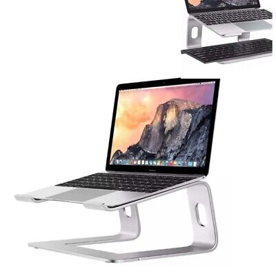 AU36.99 • Buy Aluminum Laptop Stand For MacBook Pro AirCooling Adjustable Notebook Holder Tray